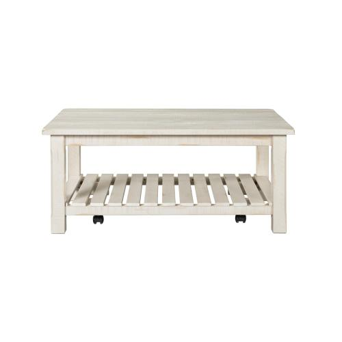 COFFEE TABLE - Antique White