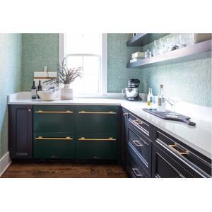True Residential24 Inch Overlay Panel Door Left Hinge Undercounter Freezer