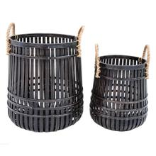 See Details - Alba Open Weave Round Baskets