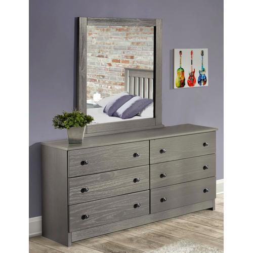 Innovations Furniture - Gray Dresser & Mirror