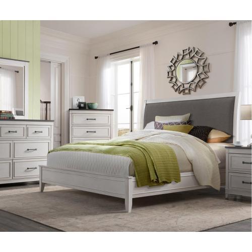DelMar - White 6 Piece King Bedroom
