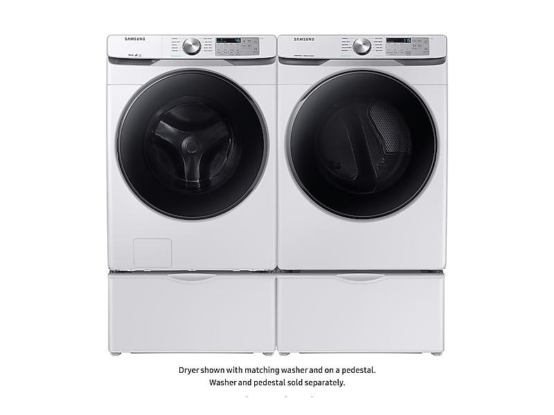 7.5 cu. ft. Electric Dryer with Steam Sanitize+ in White Photo #5
