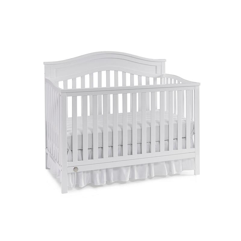 View Product - Fisher-Price Aubree Convertible Crib, Snow White