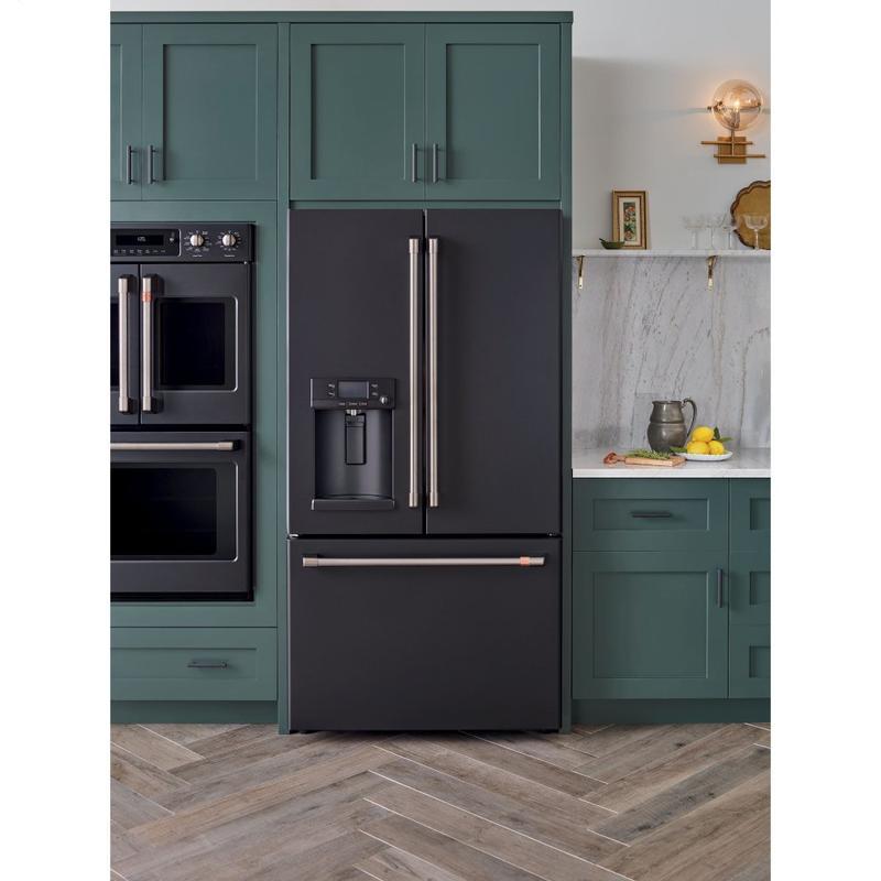 Café ENERGY STAR ® 22.1 Cu. Ft. Smart Counter-Depth French-Door Refrigerator with Hot Water Dispenser