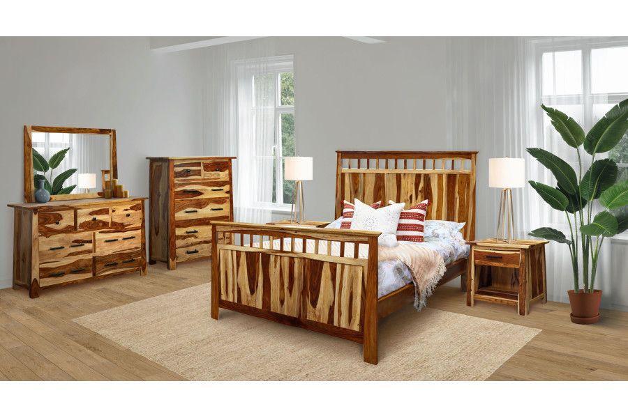 Porter International DesignsKalispell Bedroom Set, Pdu-101