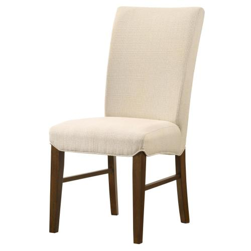 Levi KD Fabric Dining Side Chair, Summit Linen