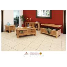 View Product - Console Table w/3 drawers
