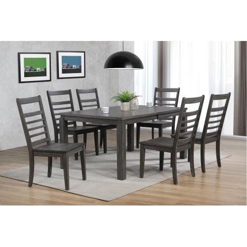 Dining Set - Shades of Gray (7 Piece)