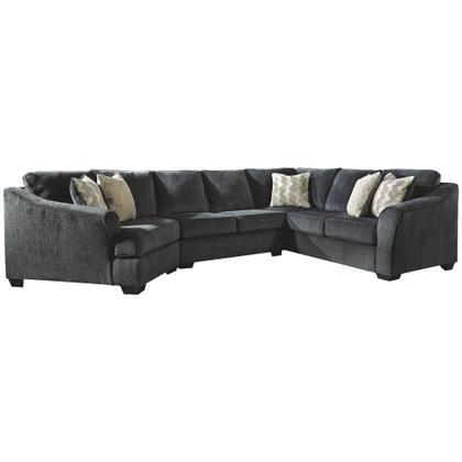 See Details - Eltmann 3-piece Sectional With Cuddler