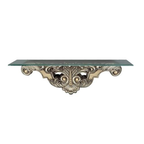 Leaf & Bead Console Table (Wall)