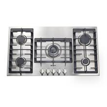 "Stainless Steel 36"" Gas 5 - Burner Designer Series - Floor Model"