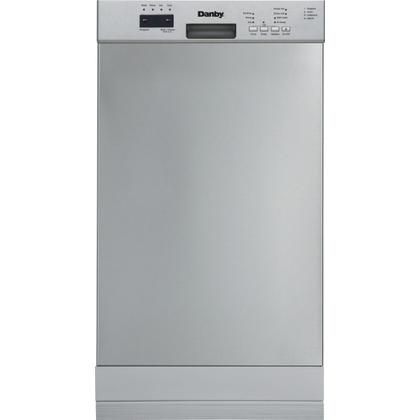 """See Details - Danby 18"""" Electronic Dish Washer Stainless Steel"""