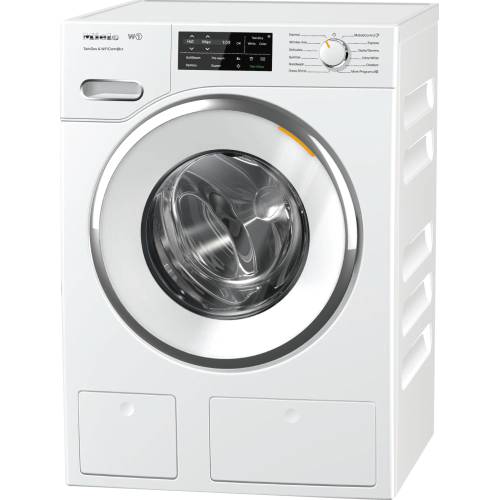 W1 Front-loading washing machine with TwinDos, CapDosing, and WiFiConn@ct.