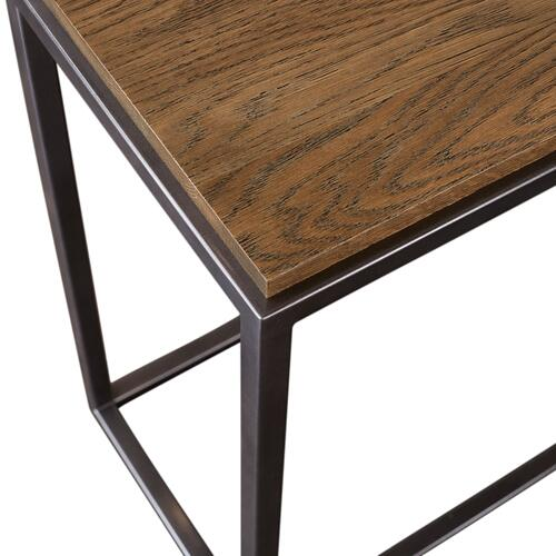 Midtown Oak Console Table