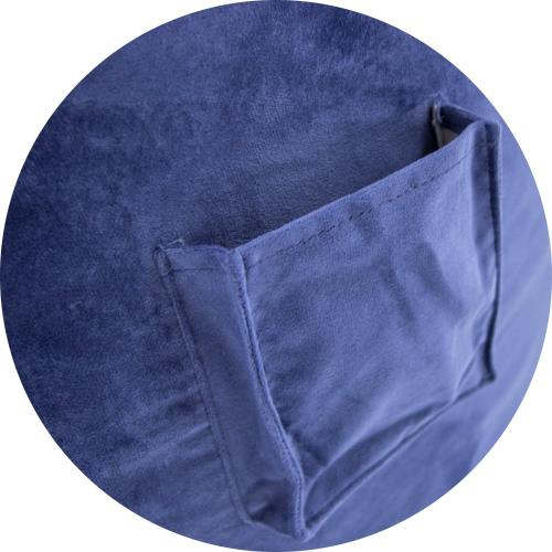 Full Cover - NEST Plush Fur - Navy