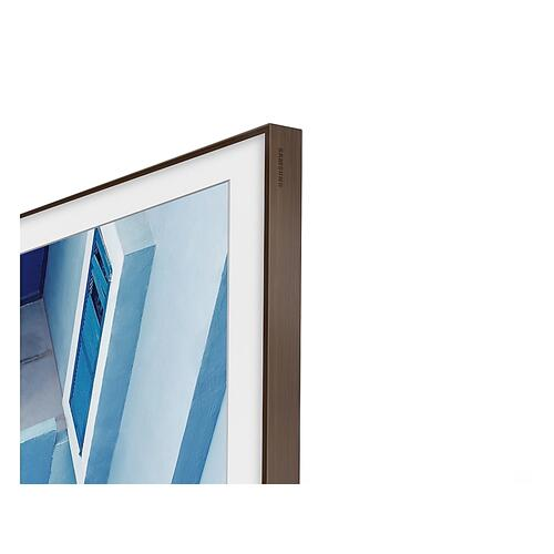"(2020) 75"" The Frame Customizable Bezel Brown"