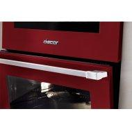 "30"" Gas Pro Range, Haute Red, Natural Gas"