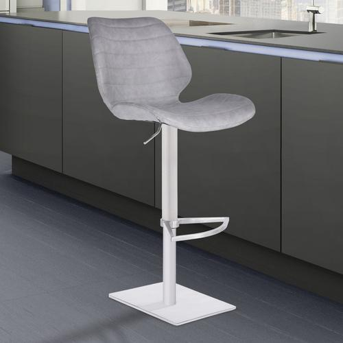 Armen Living Falcon Adjustable Swivel Barstool