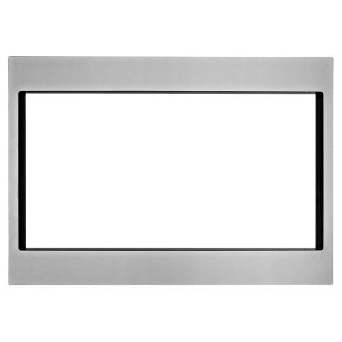 27 in. Trim Kit for Countertop Microwaves Fingerprint Resistant Stainless Steel