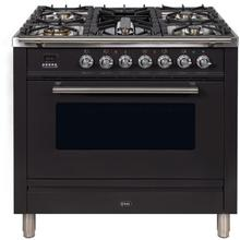 36 Inch Matte Graphite Natural Gas Freestanding Range