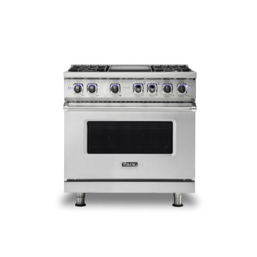 "36"" Sealed Burner Gas Range - VGR7362"