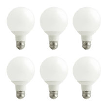purePower G25 LED Bulb - 6 pack