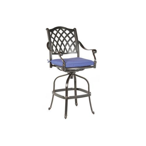 Alfresco Home - Twining Bar Swivel Arm Chair