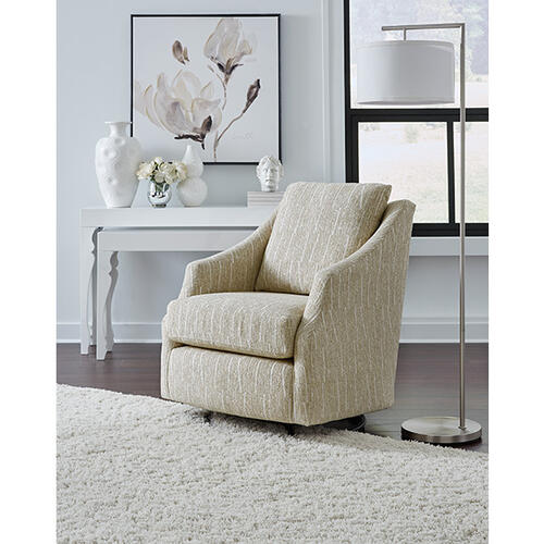 FLUTTER Swivel Barrel Chair