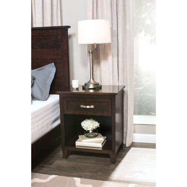 SYO Inset Nightstand with Opening, SYO Inset Nightstand with Opening