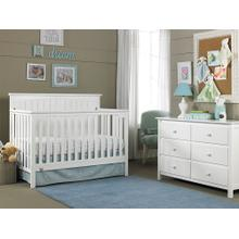 Fisher-Price Colton Convertible Crib, Snow White