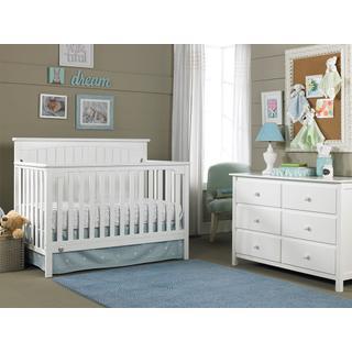 Fisher-Price Colton Convertible Crib, Snow White