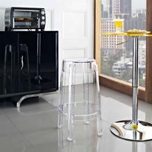 See Details - Casper Counter Stool in Clear