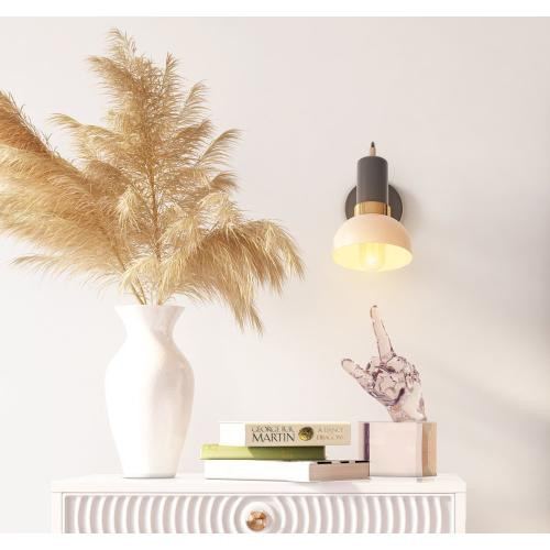 Tov Furniture - Juku Blush/Grey Wall Sconce