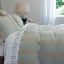 Flynn Duvet Cover & Shams, LAKE, KING