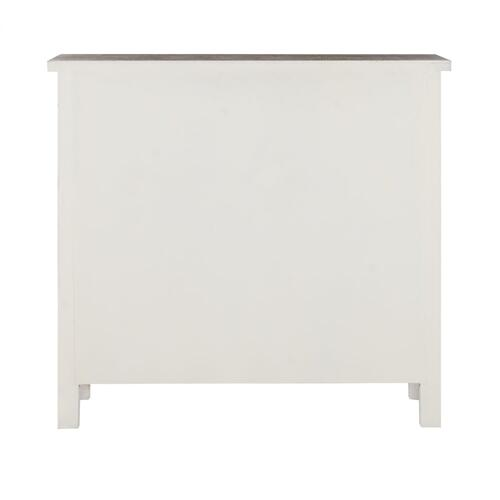 6-drawer Chest, Neutral White and Driftwood Tones