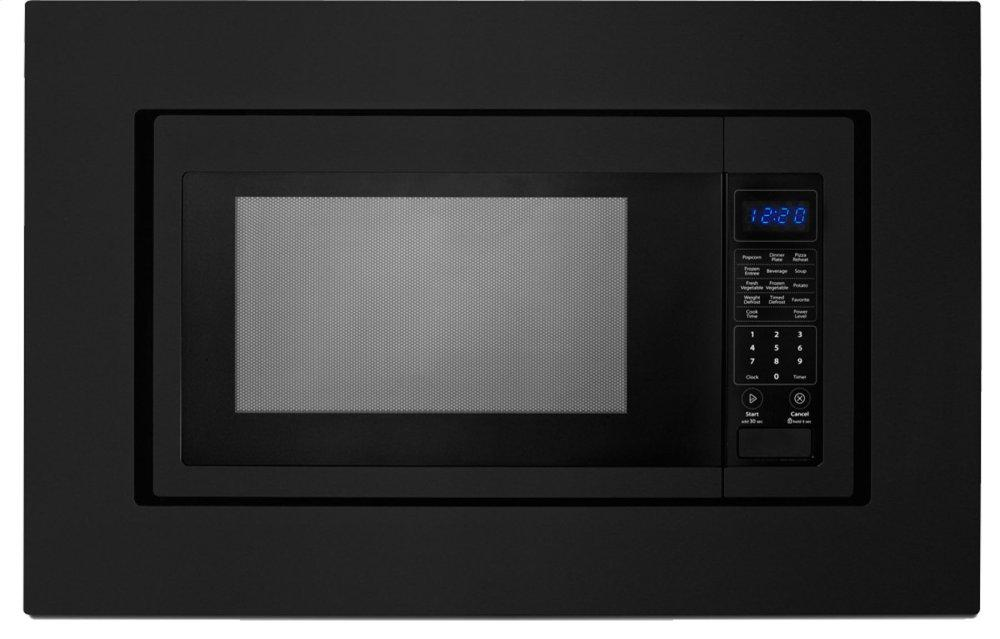 Whirlpool27 In. Trim Kit For Countertop Microwaves - Black