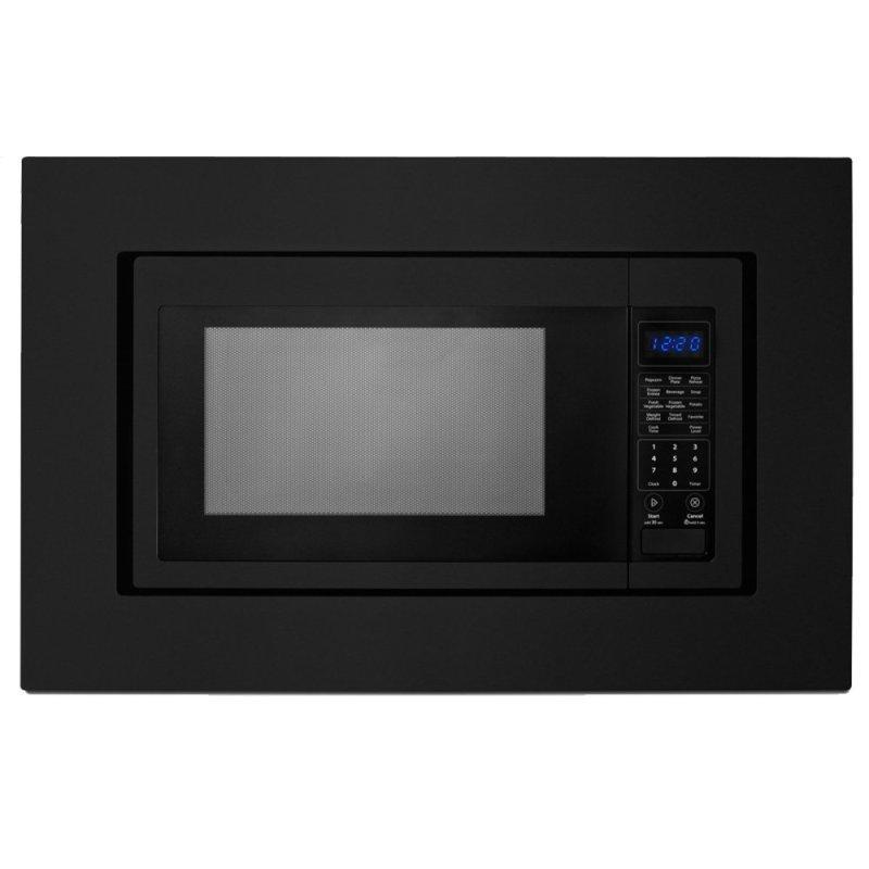 27 in. Trim Kit for Countertop Microwaves - Black