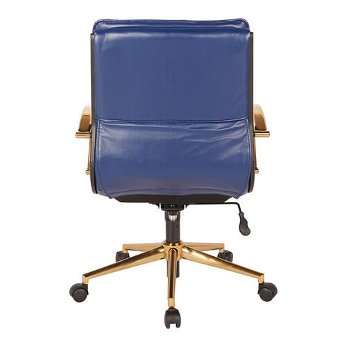 Mid-back Faux Leather Chair