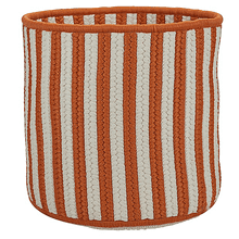 "Baja Stripe Basket BJ43 Orange 12"" X 10"""