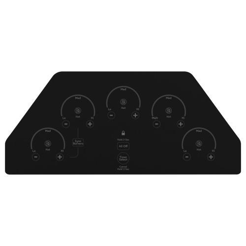 """GE Appliances - Café 36"""" Built-In Touch Control Electric Cooktop"""