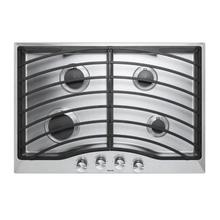 """See Details - 30"""" Continuous Grate Gas Cooktop, Propane Gas"""