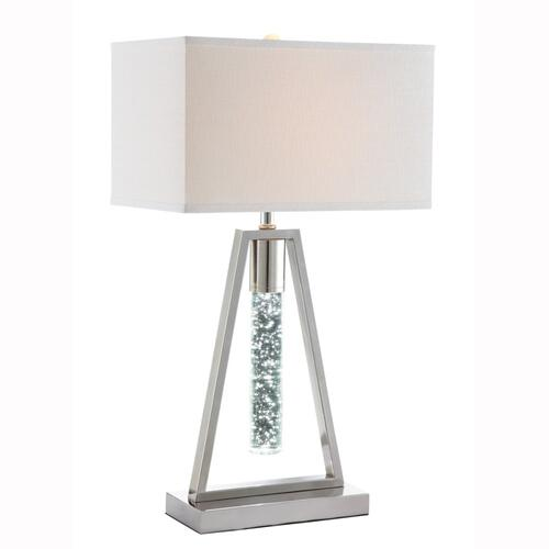 "27""h Table Lamp W/icicle Light"
