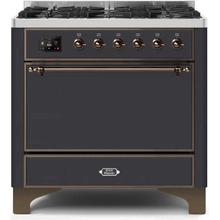 "36"" Inch Matte Graphite Natural Gas Freestanding Range"