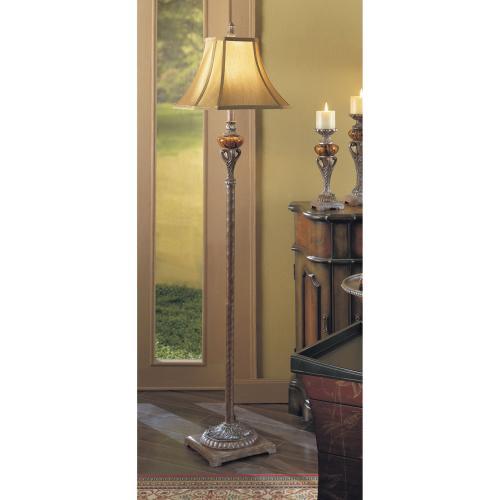 "Gallery - 61.75""H Poly Floor Lamp"