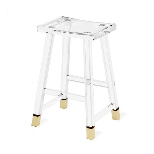 Reva Counter Stool - Brass