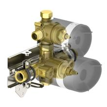 in2itiv thermostatic 2-way valve rough-in (CALGreen compliant)