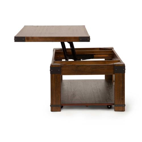 Arusha Lift Top Cocktail Table w/Casters