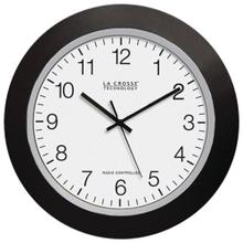 "12"" Black Atomic Wall Clock"