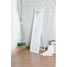 7058 WHITE Full Length Standing Mirror
