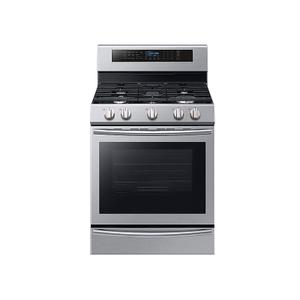5.8 cu. ft. Freestanding Gas Range with True Convection and Steam Reheat in Stainless Steel Product Image